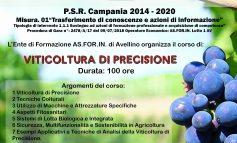 Corso: VITICOLTURA DI PRECISIONE PSR 2014/2020